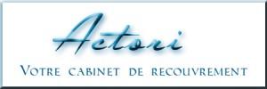 logo cabinet de recouvrement de créances actori